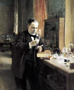 Louis Pasteur in his Laboratory 1885 by Albert Gustaf Aristides Edelfelt