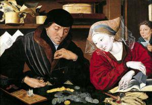 The Tax Collector by Marinus van Roejmerswaelen