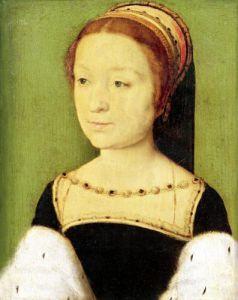 Madeleine de France Queen of Scotland 1536 by Corneille de Lyon