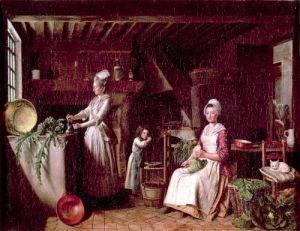 Provencal Kitchen by Antoine Raspal