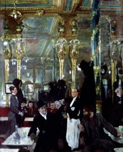 Cafe Royal London 1912 by Sir William Orpen