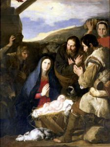 Adoration of the Shepherds 1650 by Jusepe De Lo Spagnoletto Ribera