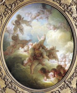 The Swarm of Cupids c.1767 by Jean-Honoré Fragonard