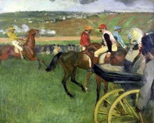 The Race Course c.1876 by Edgar Degas
