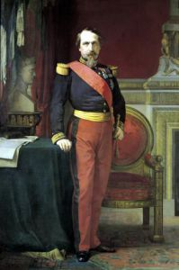 Portrait of Napoleon III 1862 by Jean-Hippolyte Flandrin