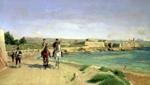 Antibes the Horse Ride 1868 by Jean-Louis Ernest Meissonier