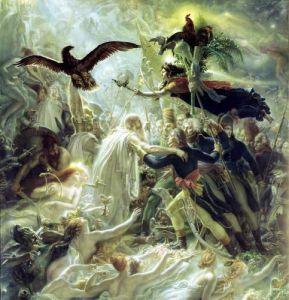 The Apotheosis of the French Heros by Anne Louis Girodet de Roucy-Trioson