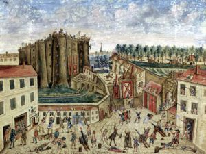 The Siege of the Bastille 1789 by Claude Cholat