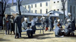 The Convalescents 1861 by Marie Francois Firmin-Girard