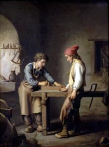 The Young Apprentice by Edouard Amable Onslow