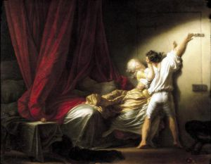 The Bolt c.1778 by Jean-Honoré Fragonard