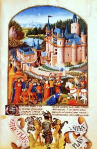 Siege of the Chateau of Derval by Pierre La Baud by Anonymous