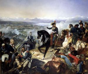 The Battle of Zurich 1837 by Francois Boucher