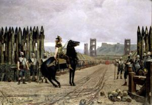 Vercingetorix before Caesar 1886 by Henri-Paul Motte