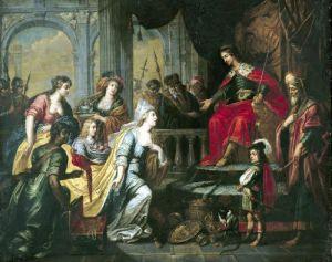 The Queen of Sheba before Solomon by Peter van Lint