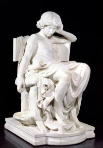 The Young Aristotle by Charles Jean Marie Degeorge