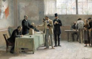 The Universal Franchise 1888 by Alfred-Henri Bramtot