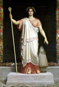 Allegory of the Republic 1848 by Dominique Louis Papety