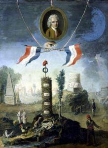 An Allegory of the Revolution 1794 by Nicolas Henri Jeaurat de Bertry
