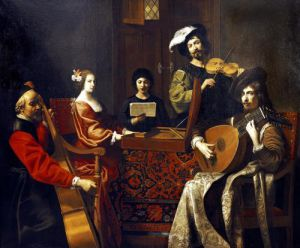 The Concert by Nicolas Tournier