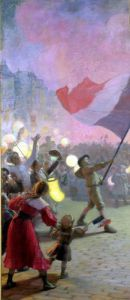 Memory of the National Festival 1895 by Hippolyte Berteaux