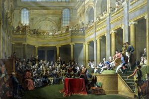 The Committee of Lyon 1808 by Nicolas Andre Monsiau