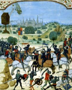Battle of Crecy 1346 by Anonymous