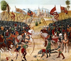 Battle of Najera 1367 by Anonymous