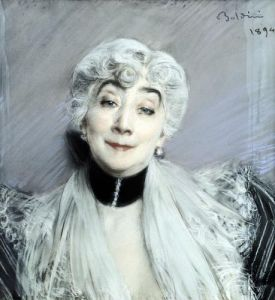 Portrait of the Countess de Martel de Janville 1894 by Giovanni Boldini
