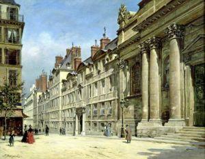La Sorbonne by Paul Joseph Victor Dargaud