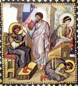 The Penitence of David with David and Nathan by Anonymous