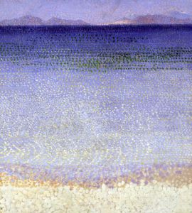 The Iles d'Or c.1891 by Henri-Edmond Cross