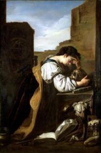 Melancholy by Domenico Feti