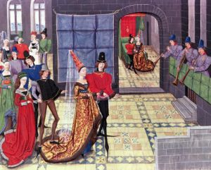 The Marriage of Renaud of Montauban and Clarisse by Loyset Liedet