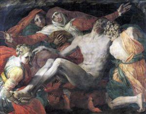 Pieta 1530 by Rosso Fiorentino