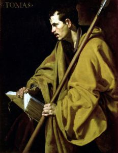 The Apostle St. Thomas c.1619 by Diego Rodriguez de Silva Velazquez