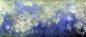 The Waterlilies - The Clouds 1915 by Claude Monet
