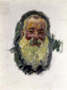 Self Portrait 1917 by Claude Monet