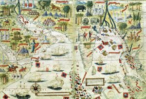 Arabia and India c.1519 by Anonymous