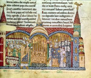 The Consecration of the Church at Cluny by Pope Urban II 1095 by French School