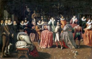 Ball at the Court of King Henri III of France by French School