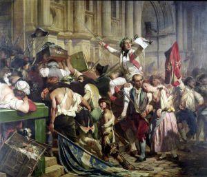 The Conquerors of the Bastille before the Hotel de Ville1839 by Paul Delaroche