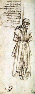 Study of a Hanged Man' Bernardo Baroncelli by Leonardo da Vinci