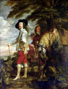 King Charles I of England out Hunting c.1635 by Sir Anthony Van Dyck