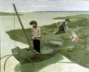 The Poor Fisherman 1881 by Pierre Puvis de Chavannes