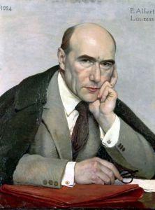 Portrait of Andre Gide 1924 by Paul Albert Laurens