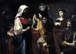 The Fortune Teller by Valentin de Boulogne