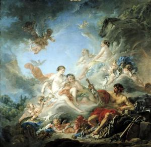 The Forge of Vulcan 1757 by Francois Boucher