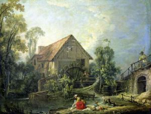The Mill 1751 by Francois Boucher