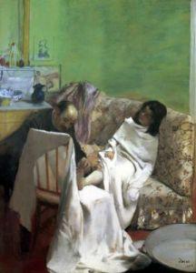 The Pedicure 1873 by Edgar Degas
